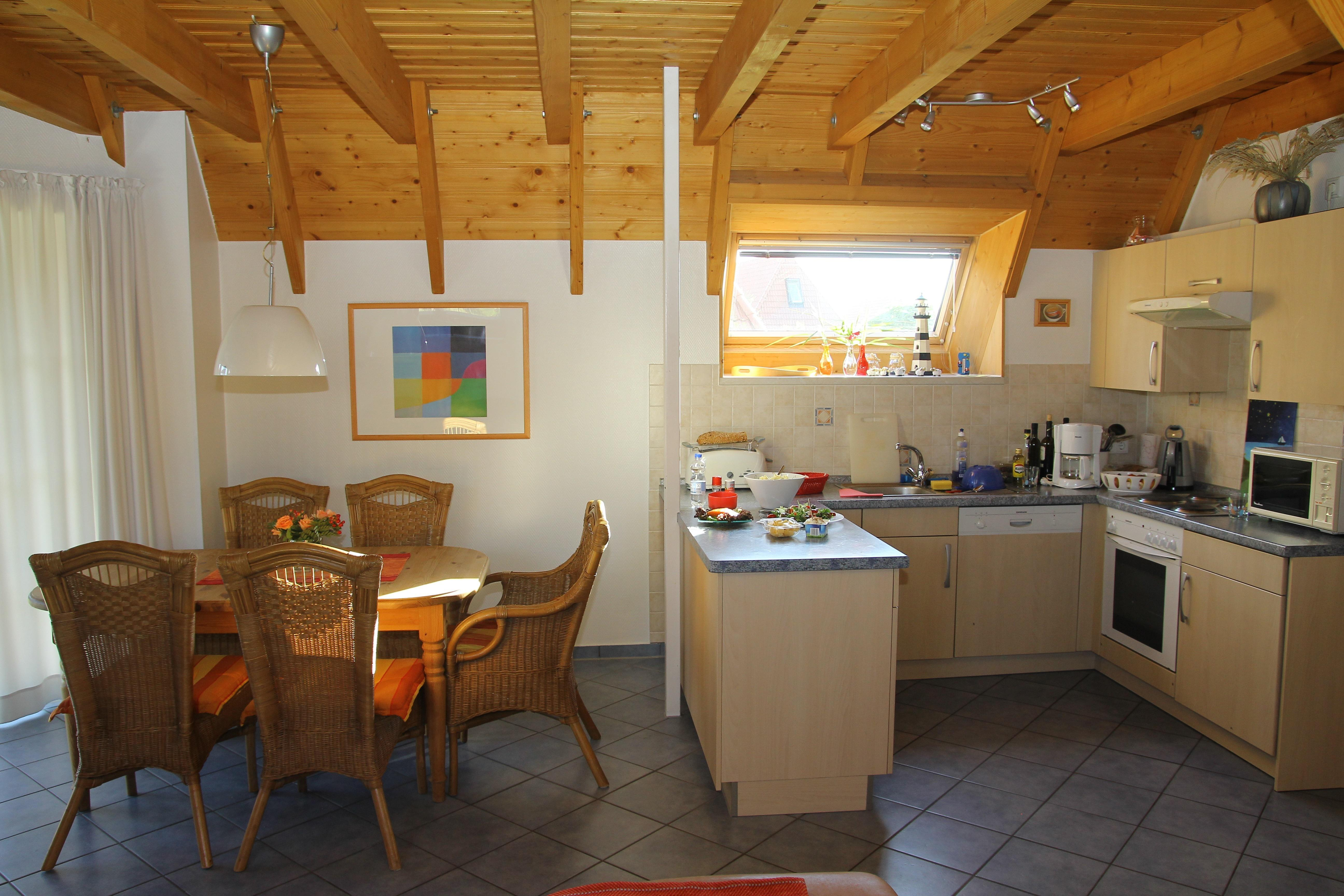 Küche und Essbereich | Ferienhaus Setzer